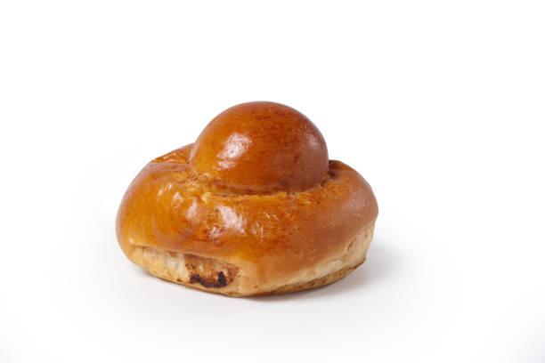 brioche - Sicilian tradition brioscia breakfast colazione sweet bun stock pictures, royalty-free photos & images