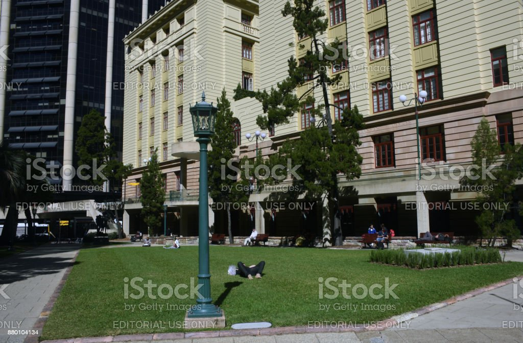 Brisbane, Australia: Anzac Square stock photo