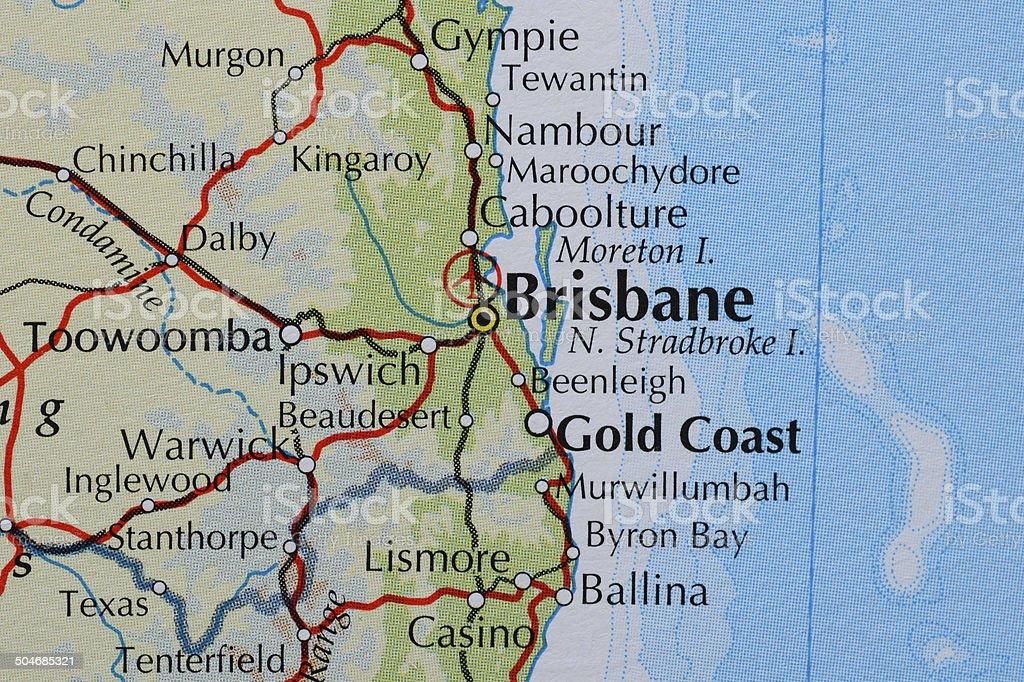 Brisbane, Australia stock photo