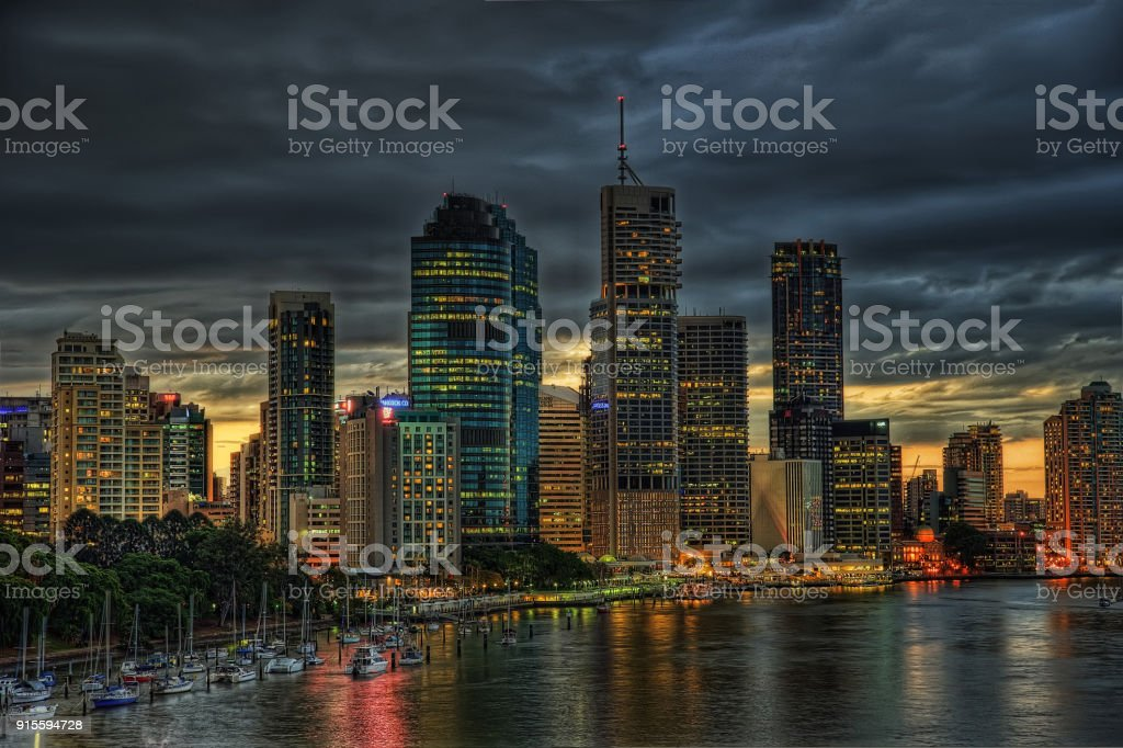Brisbane Australia stock photo