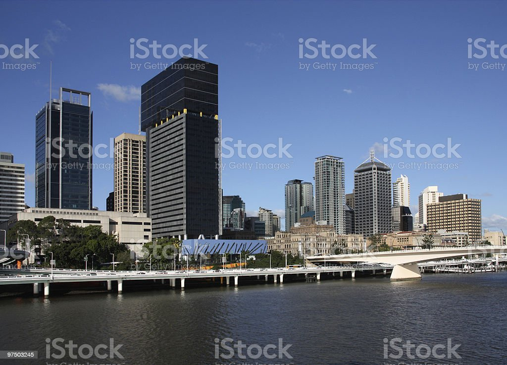 Brisbane, Australia royalty-free stock photo