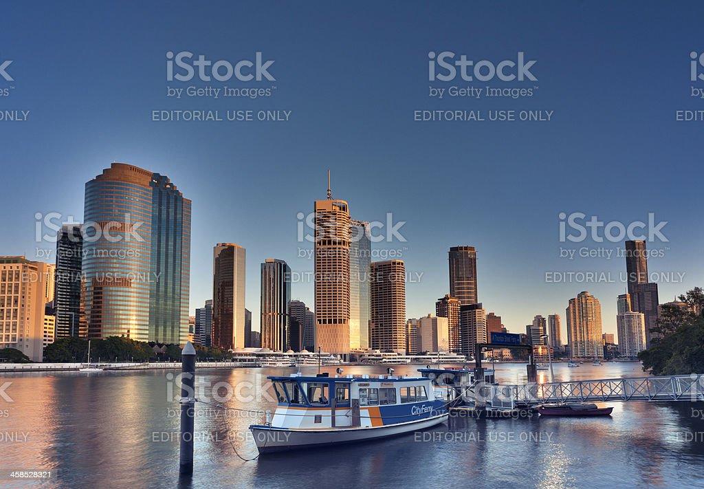 Brisbane City stock photo