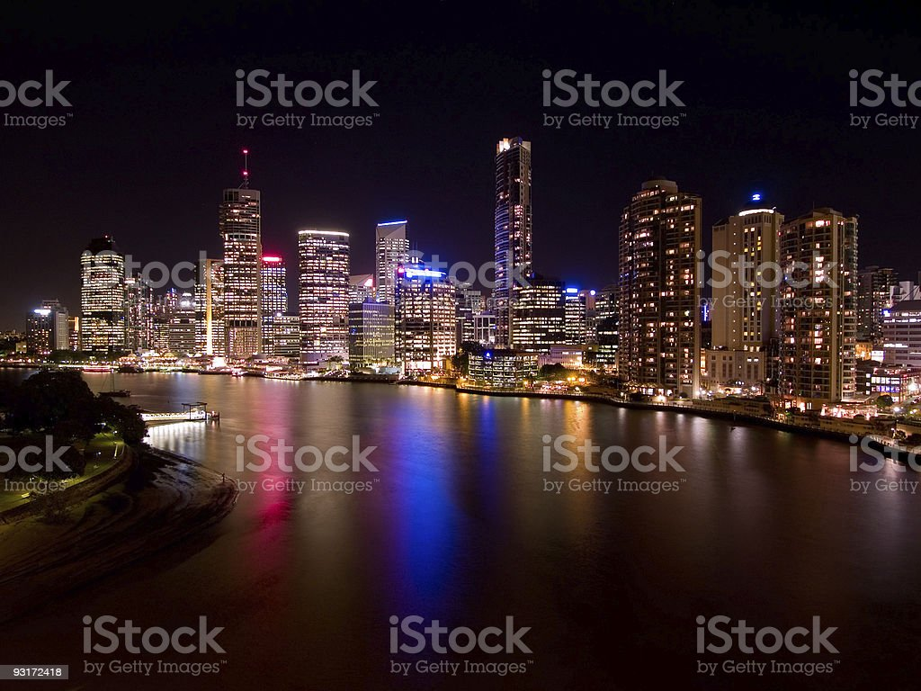 Brisbane City stock photo