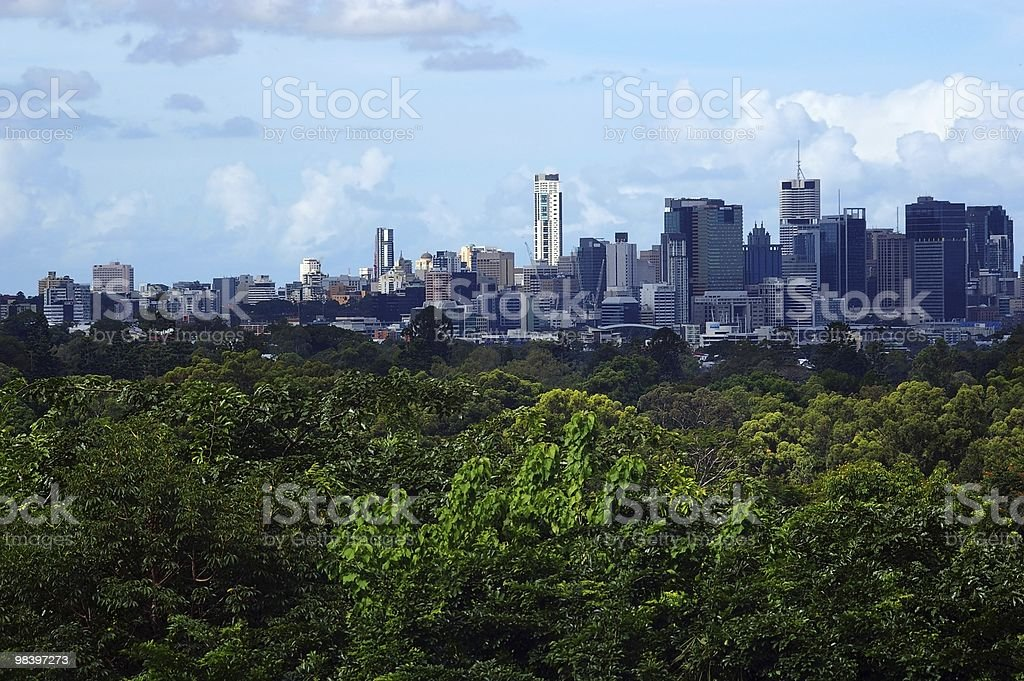 brisbane city royalty-free stock photo