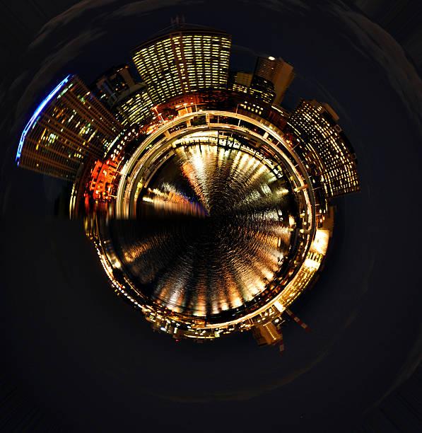 Brisbane City Planet stock photo