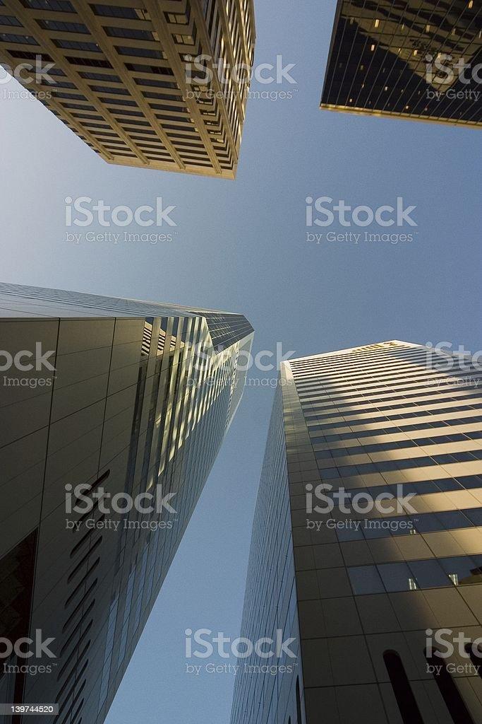 Brisbane City skyscrapers royalty-free stock photo
