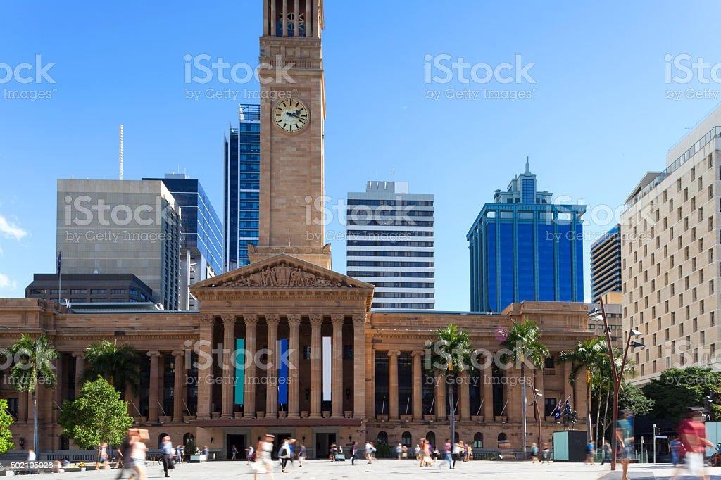Brisbane City Square stock photo