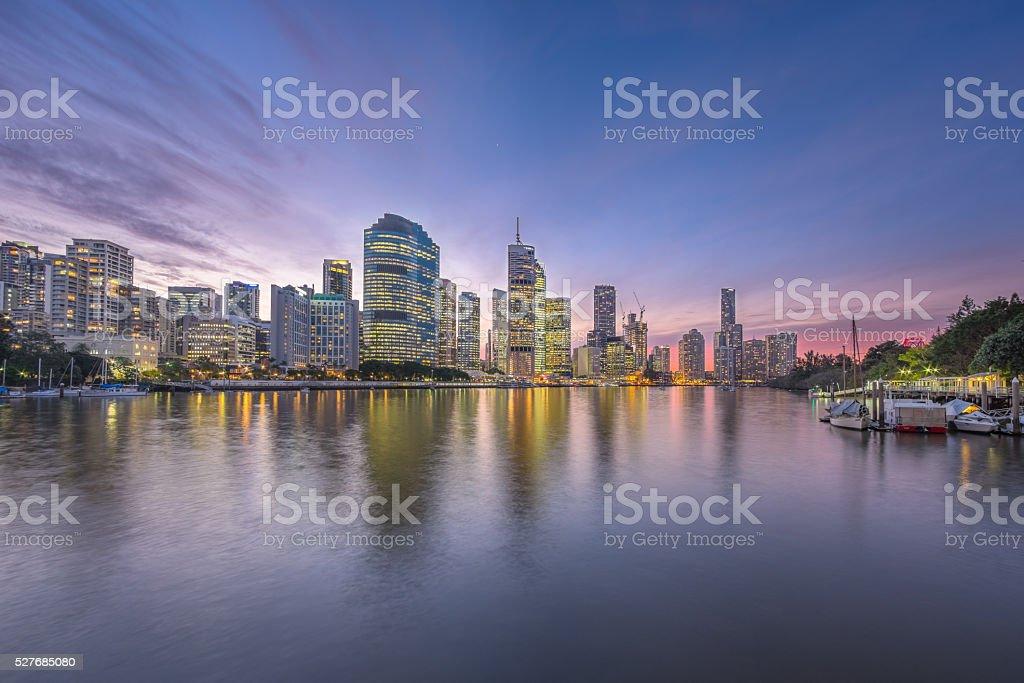 Brisbane Landscape stock photo