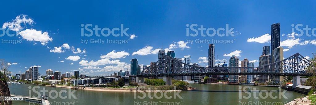 Brisbane panorama stock photo
