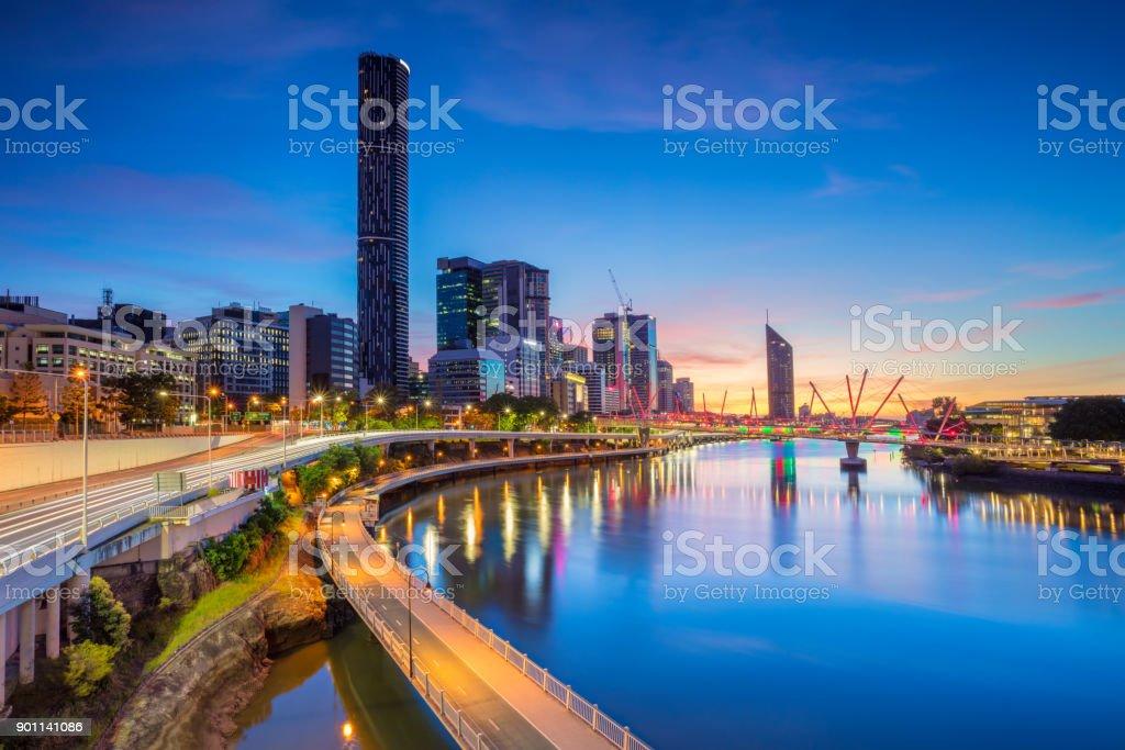 Brisbane. - foto de acervo