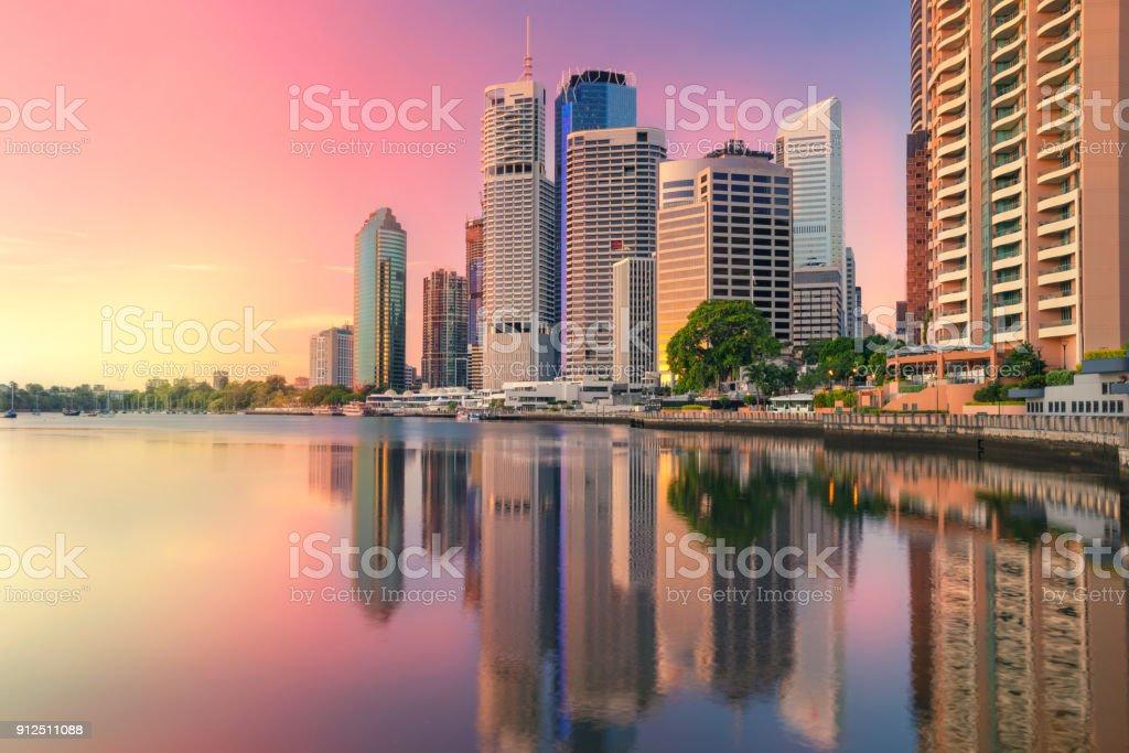 Brisbane. stock photo