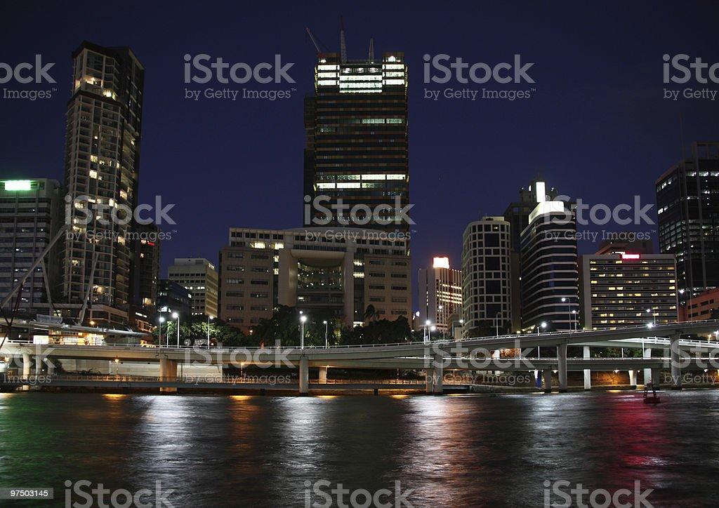 Brisbane royalty-free stock photo