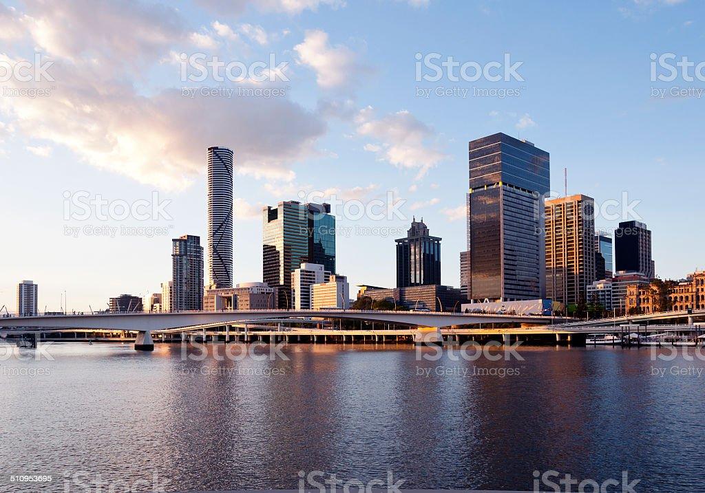 Brisbane Skyline. stock photo