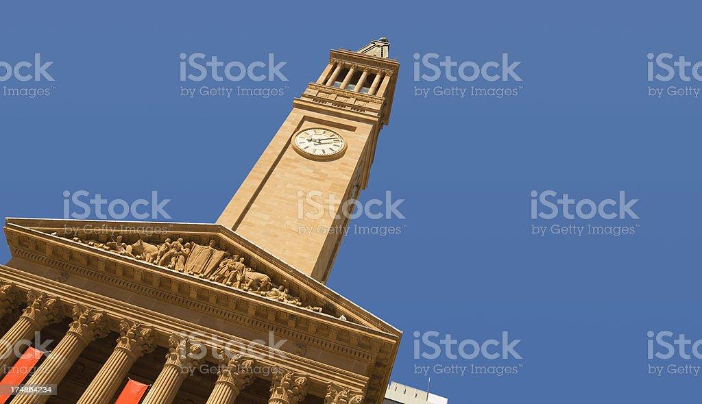 Brisbane Town Hall royalty-free stock photo