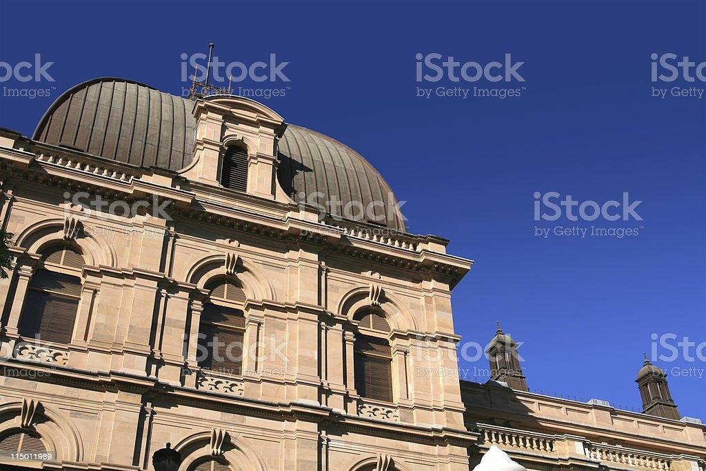 Brisbane's Parliament House royalty-free stock photo