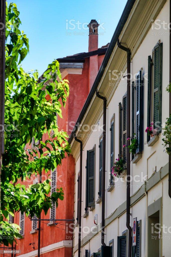 Brisighella (Ravenna, Italy): old street - foto stock