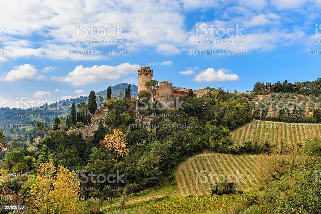 Brisighella, Rocca Manfrediana - Emilia Romagna, Italy - foto stock