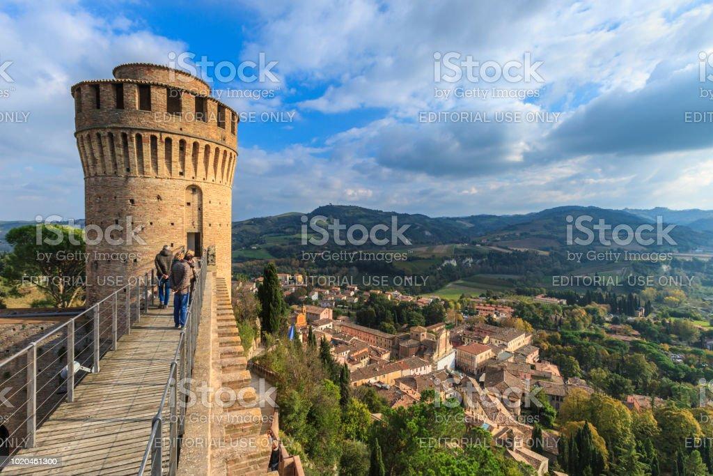 Brisighella, Rocca Manfrediana (Emilia Romagna, Italy) - foto stock
