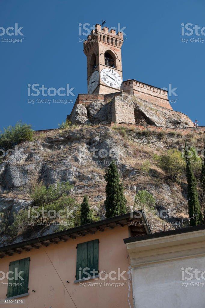 Brisighella (Ravenna, Italy): tower - foto stock