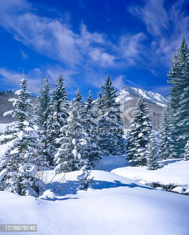 istock Brisk Winter Morning in Maroon Bells Basin, Aspen Co 1278679740