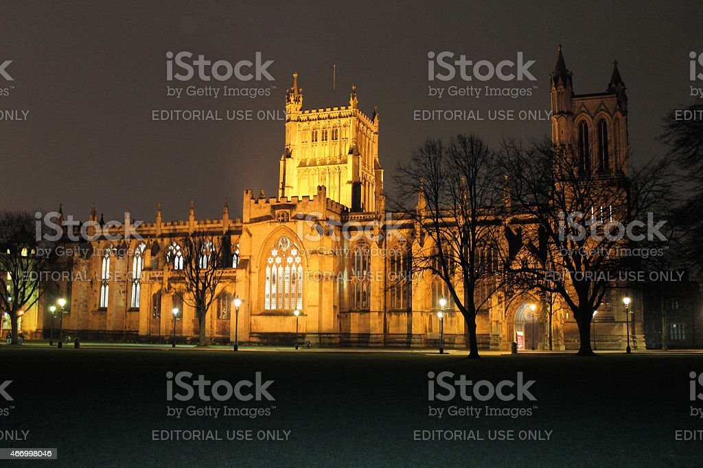 Bristol Cathedral stock photo