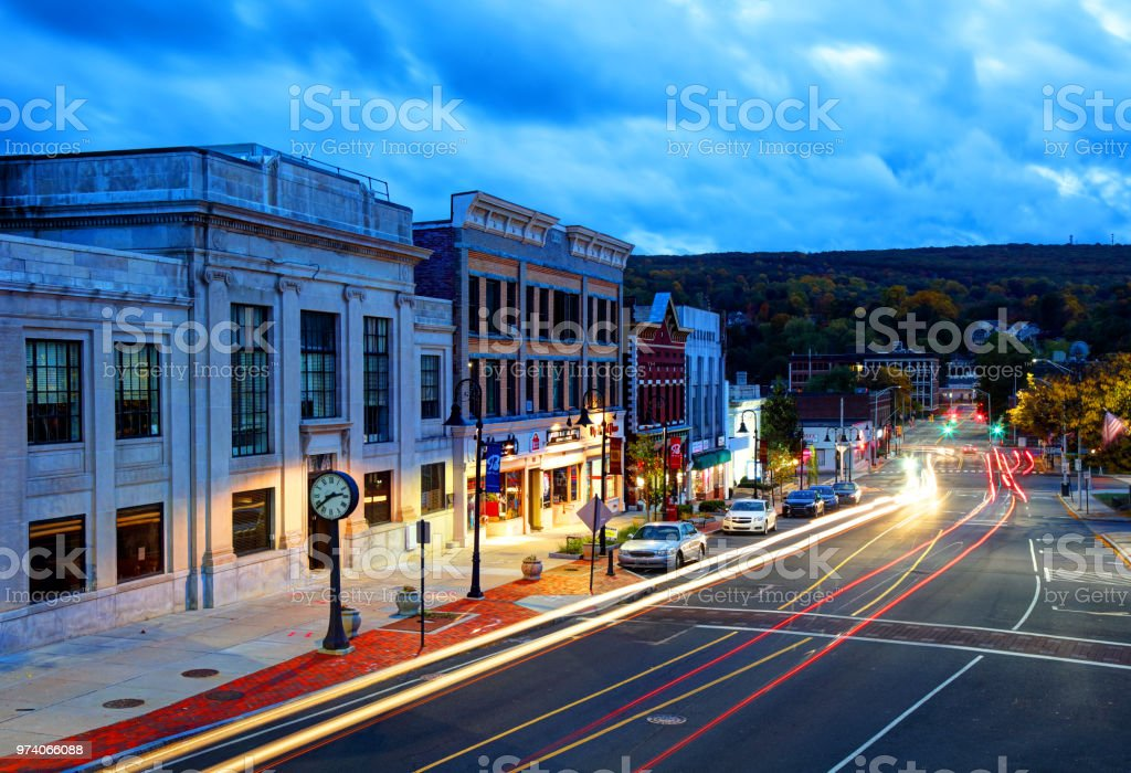 Bristol, Connecticut stock photo