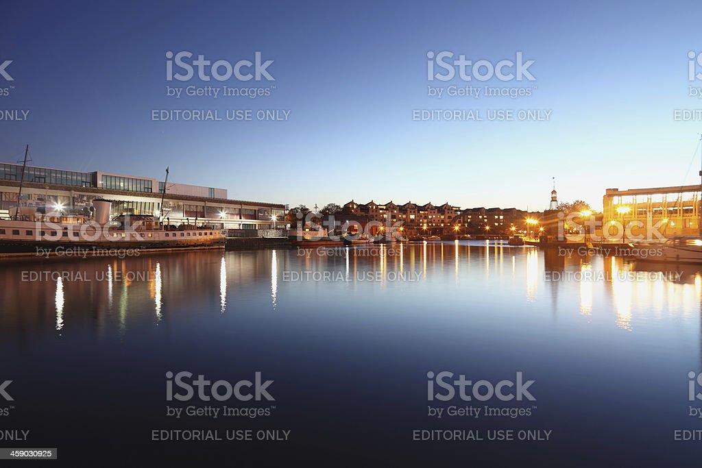 Bristol Harbour royalty-free stock photo