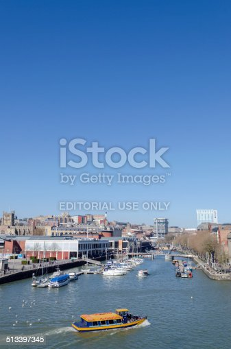 istock Bristol harbour, South West England 513397345