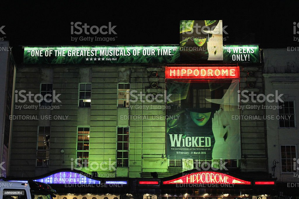 Bristol Hippodrome stock photo