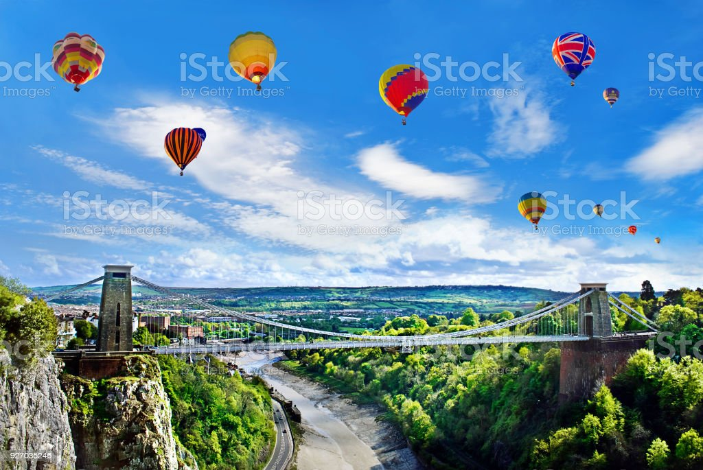Bristol International Balloon Festival stock photo