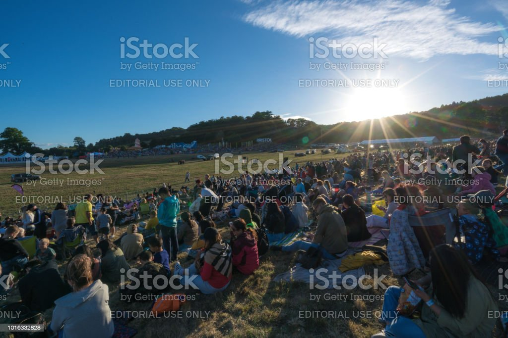 Bristol International Balloon Fiesta 2018 Day 1 stock photo