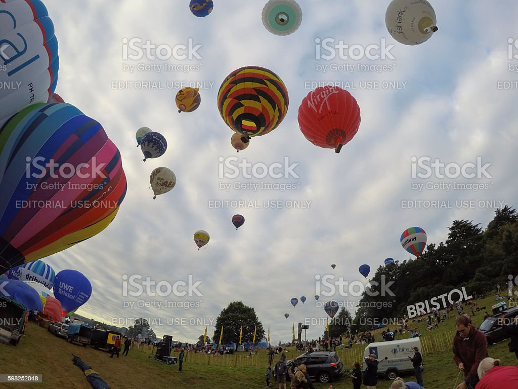 Bristol International Balloon Fiesta stock photo