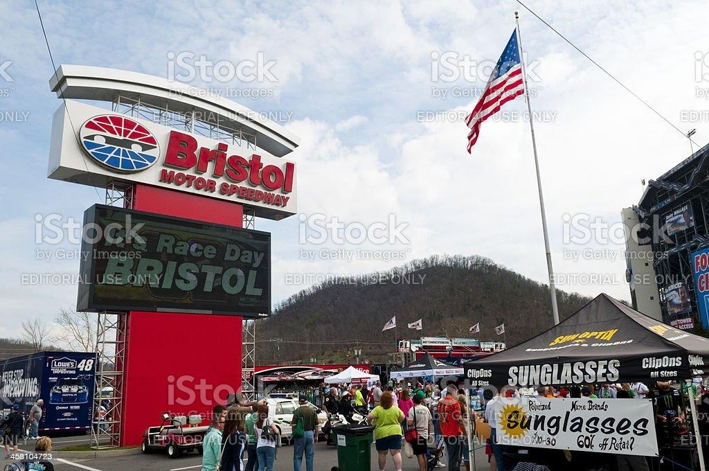 Bristol Motor Speedway royalty-free stock photo