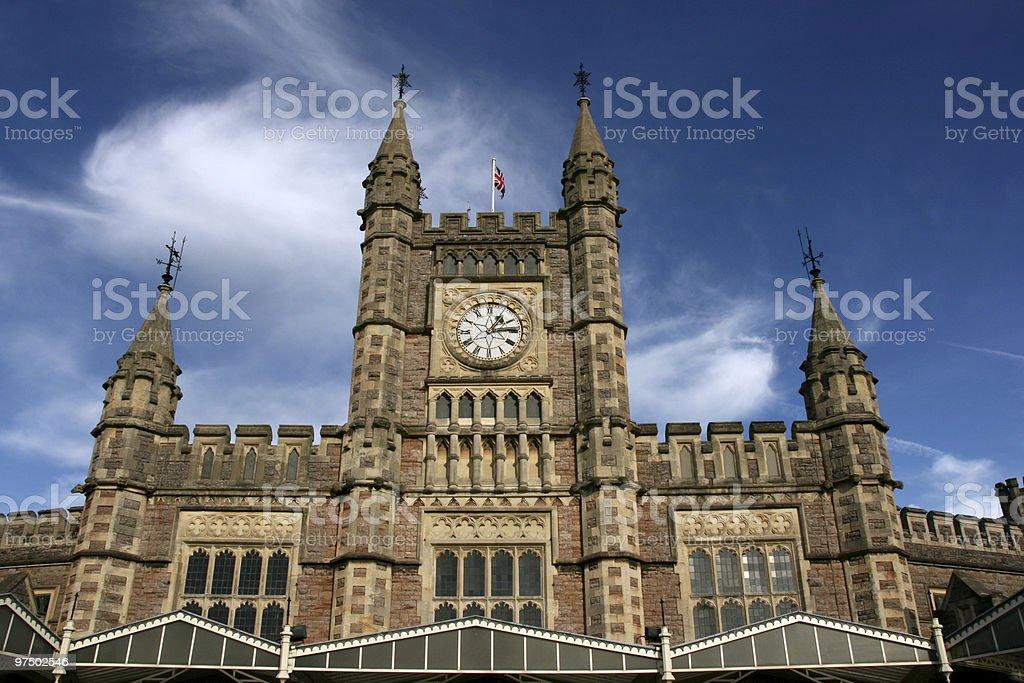 Bristol station royalty-free stock photo