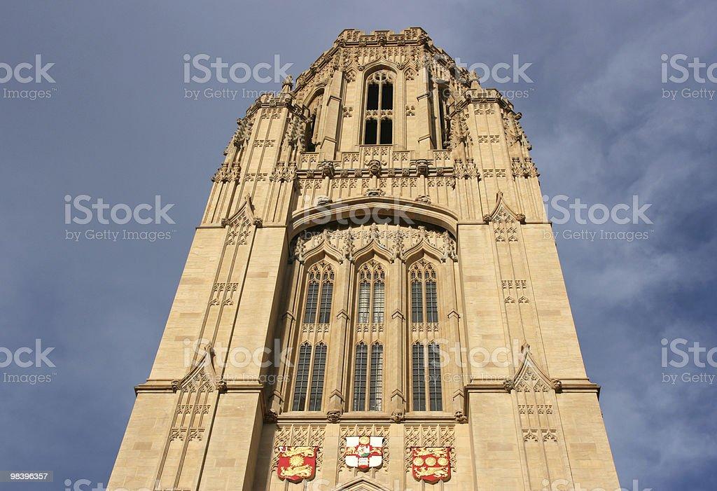 Bristol university royalty-free stock photo