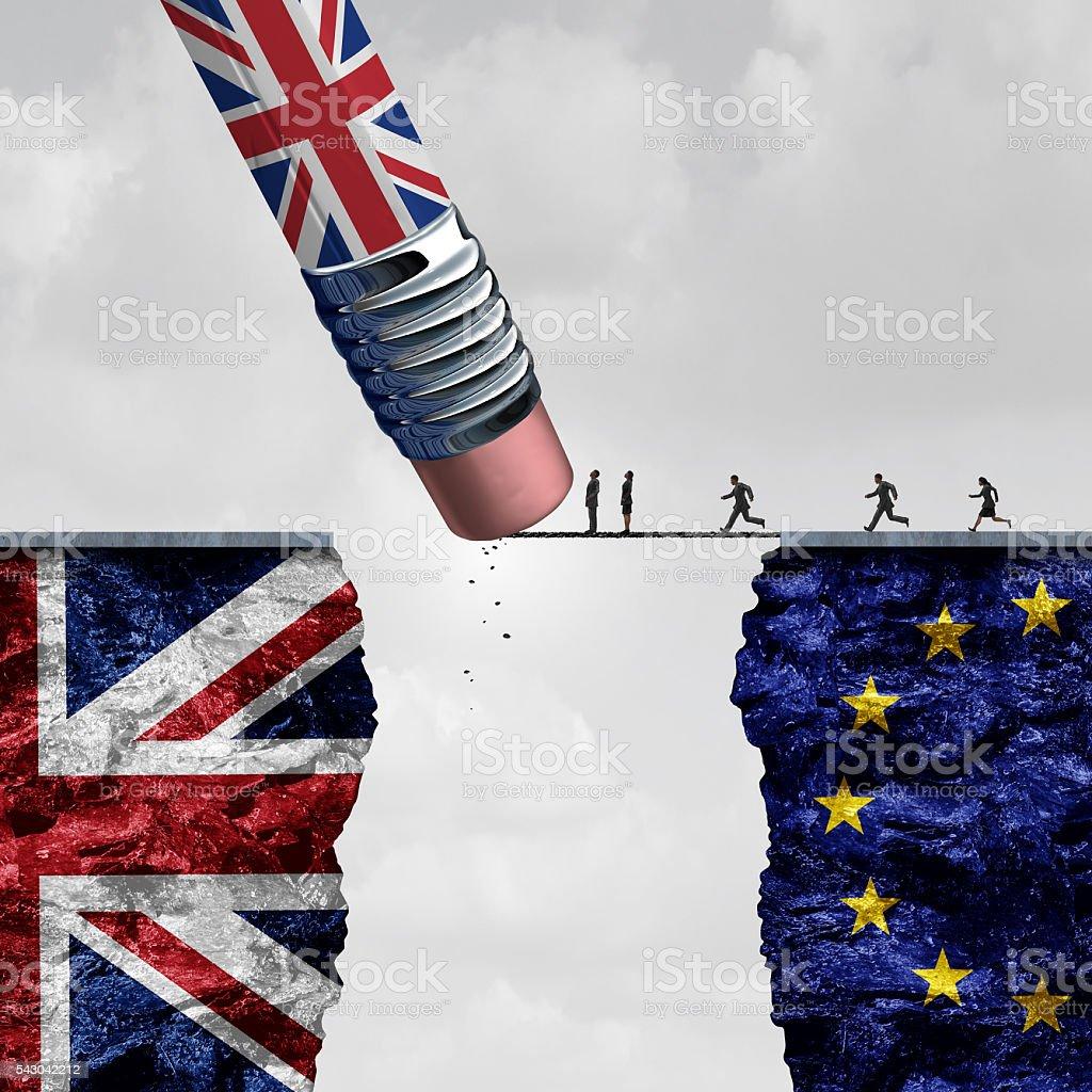 Britain European Union Change - foto stock