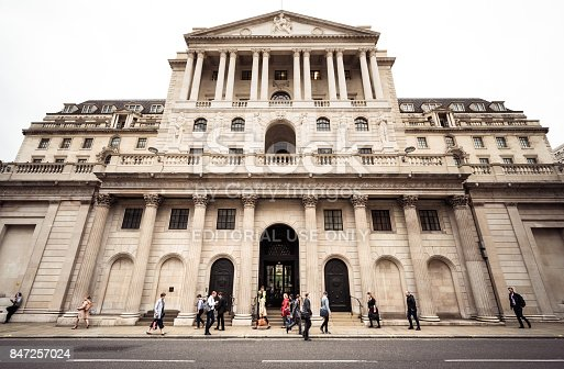 istock Britain's central bank, the Bank of England in the City of London 847257024