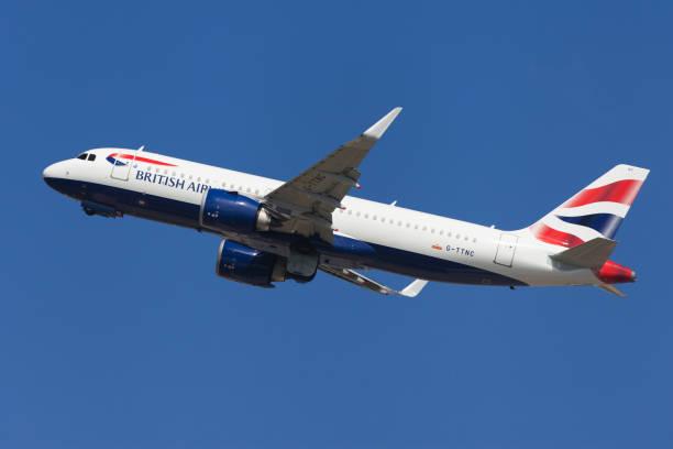 British Airways Airbus A320neo stock photo