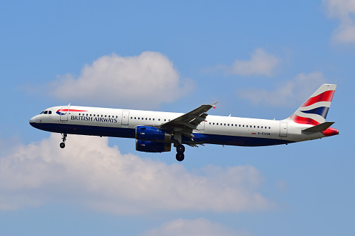 Foto de British Airways Airbus A321 e mais fotos de stock de Aeroporto