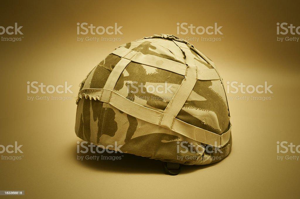 British Army Helmet stock photo