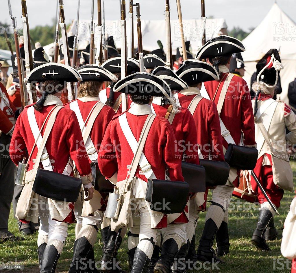 Britische Armee Redcoats – Foto