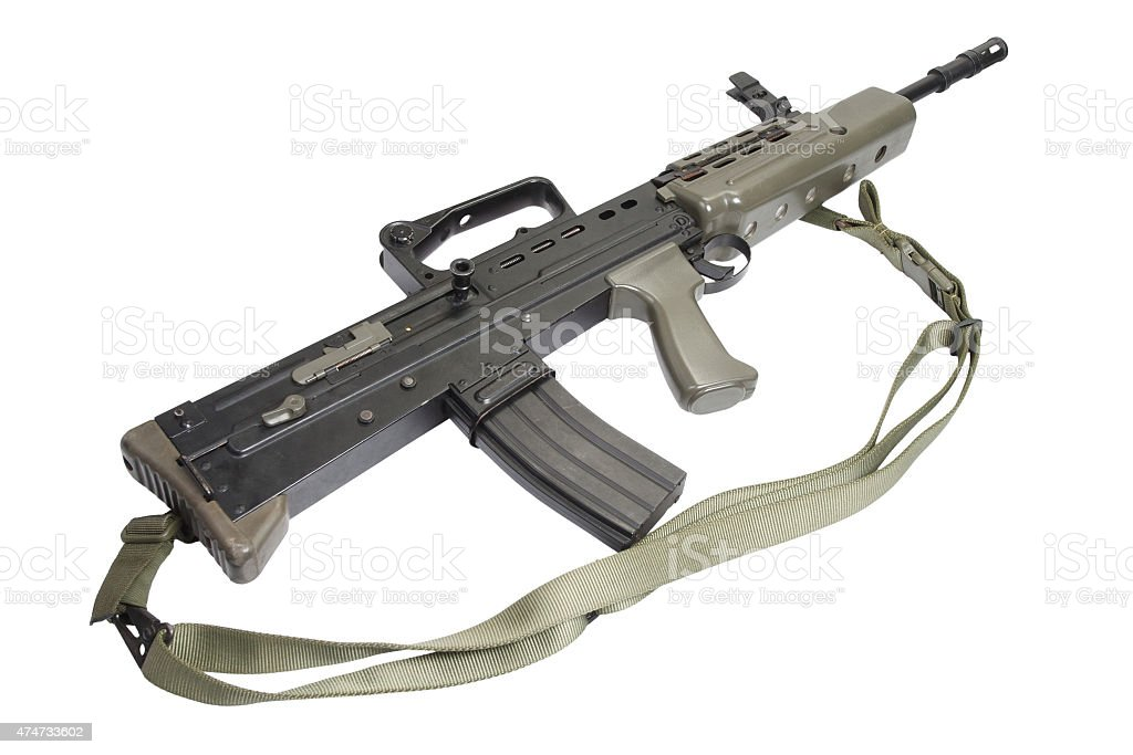 British Assault Rifle L85a1 Stock Photo - Download Image Now