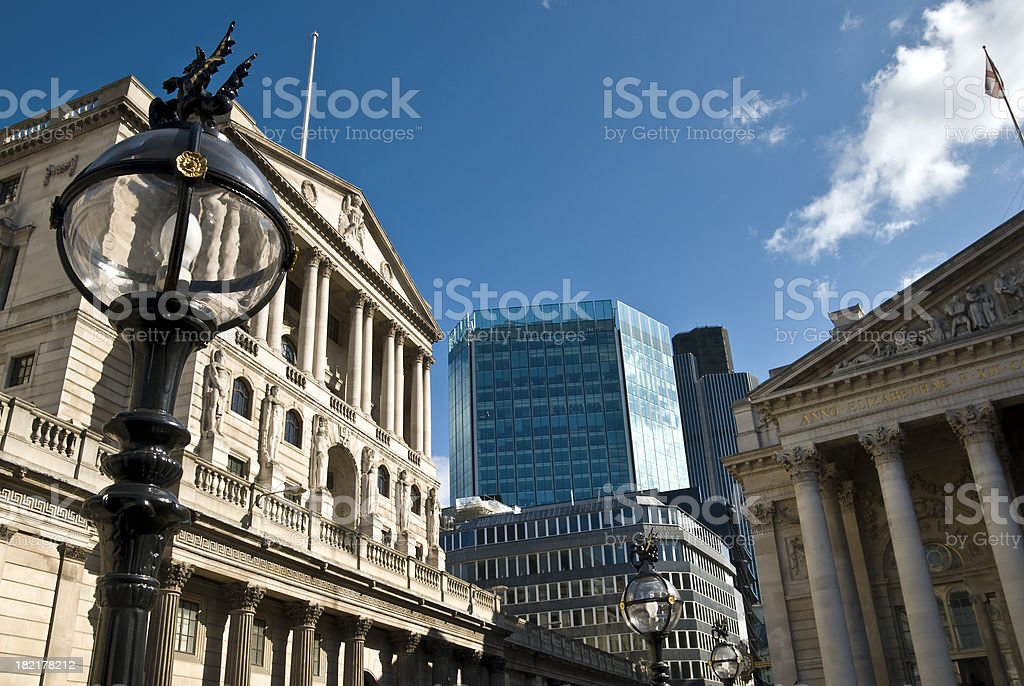 British Banking stock photo