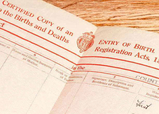 Best Birth Certificate Stock Photos, Pictures & Royalty-Free