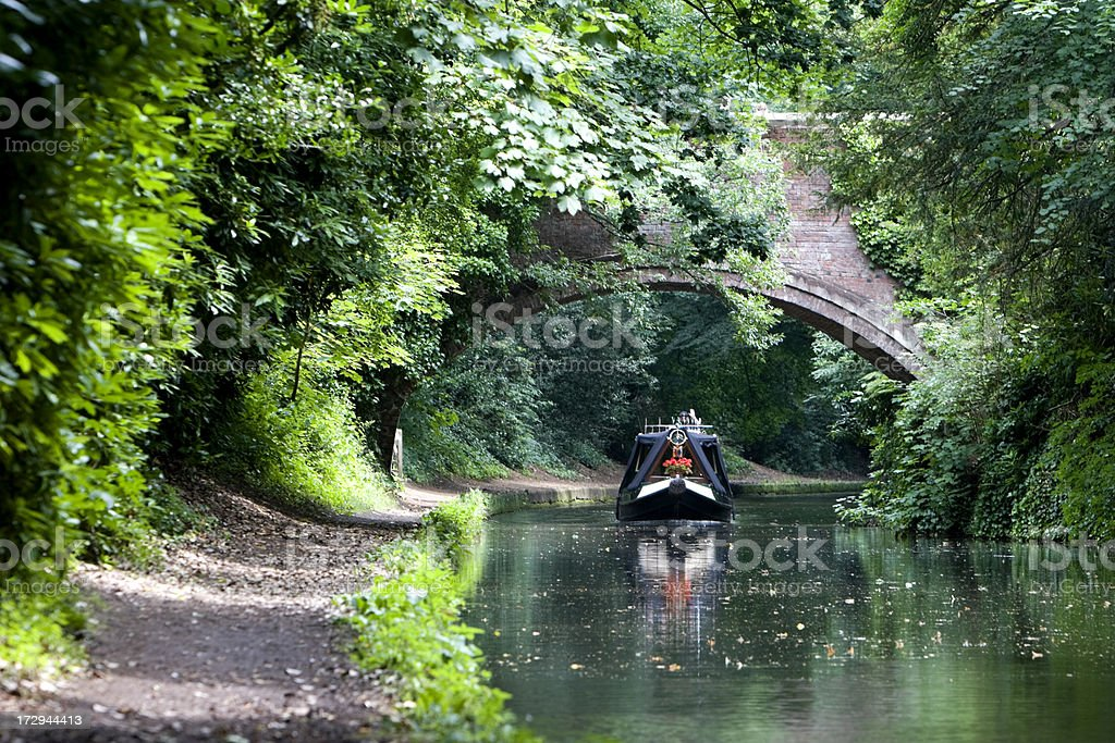 British Canal Holiday stock photo