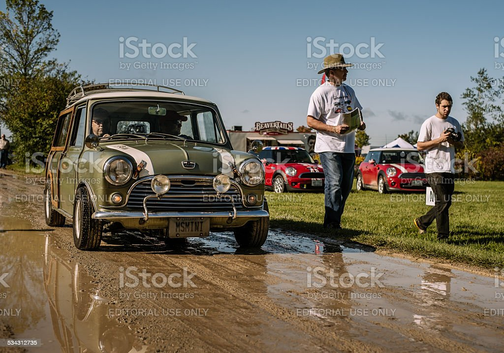 British Car Day stock photo
