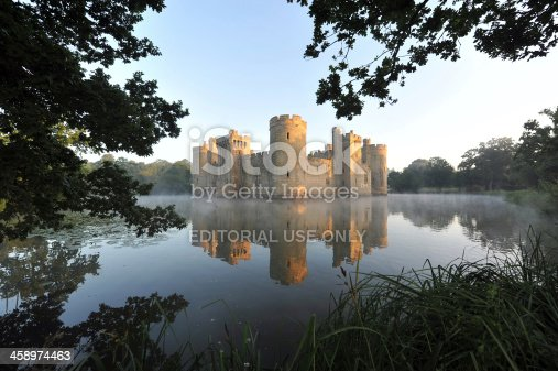istock British Castle and Moat 458974463