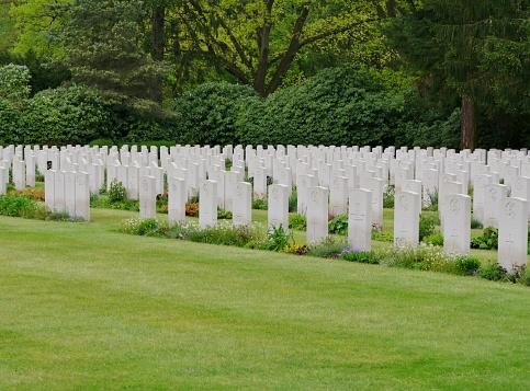British cemetery in Hamburg-Ohlsdorf