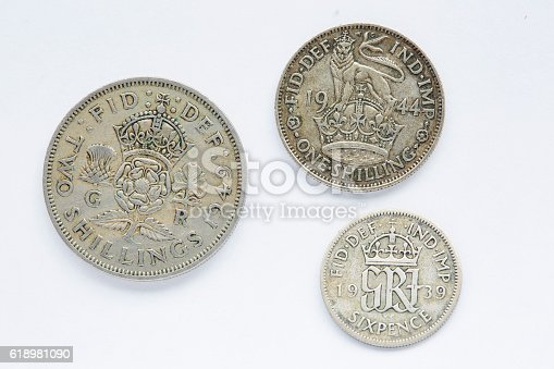 istock British coin 618981090