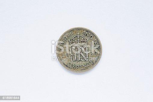 istock British coin 618981644